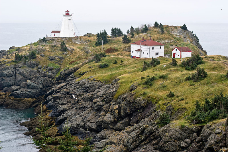 Lighthouse On Grand Manan Island