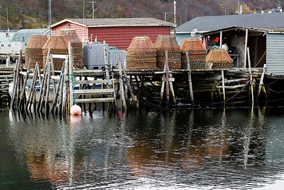Lobster Traps in Petty Harbour