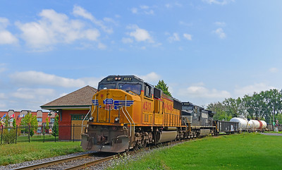 Canadian National #529, St-Jean-sur-Richelieu, Quebec, August 18 2017.