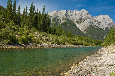 Mout Kidd in Kananaskis Country, Alberta