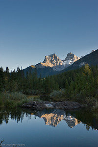 Three Sisters, Kanaskis Country, Alberta