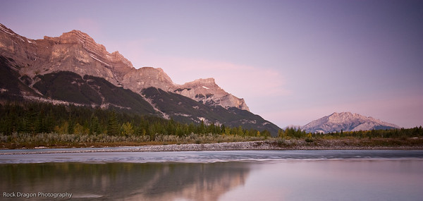 Mount Rundle and Cascade Mountain, Banff National Park