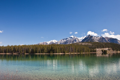 Two Jack Lake in Banff National Park