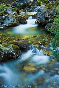 Galatea Creek in Kananaskis Country Alberta.