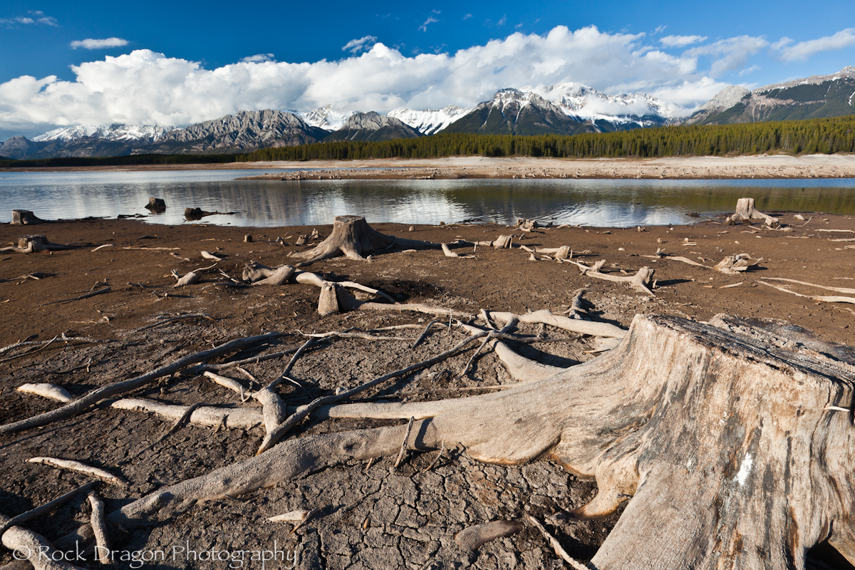 Lower Kananaskis Lake in Peter Lougheed Provincial Park.
