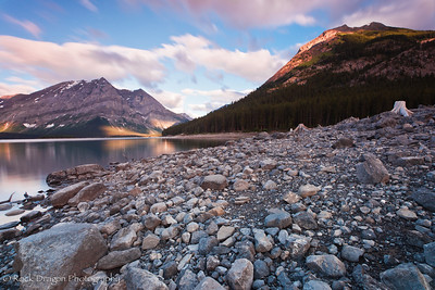 Mount Indefatigable and Mount Lyautey in Peter Lougheed Provincial Park.