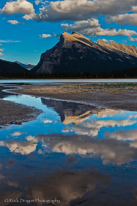 Vermillion Lakes in Banff National Park.