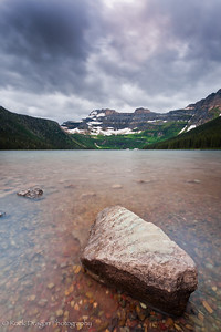 Cameron Lake in Waterton Lakes National Park.