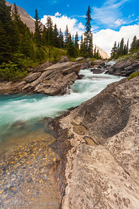 Nigel Creek at Nigel pass in Banff National Park.