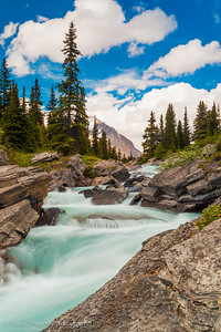 Nigel Creek at Nigel pass in Banff National Park.