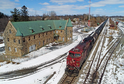 Canadian Pacific 650, Lacolle, Quebec, March 25 2018.