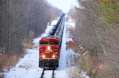 Canadian Pacific 651, Lacolle, Quebec, March 23 2018.