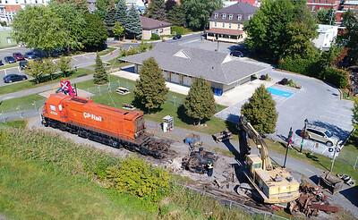 Canadian Pacific M-636 #4723, Farnham, Quebec, September 27 2017.