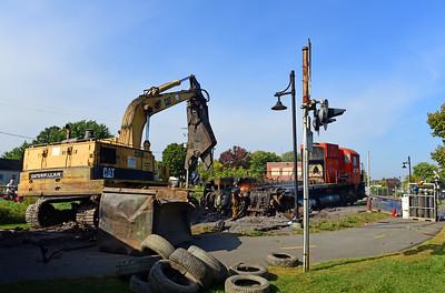 Canadian Pacific M-636 #4723, Farnham, Quebec, September 26 2017.