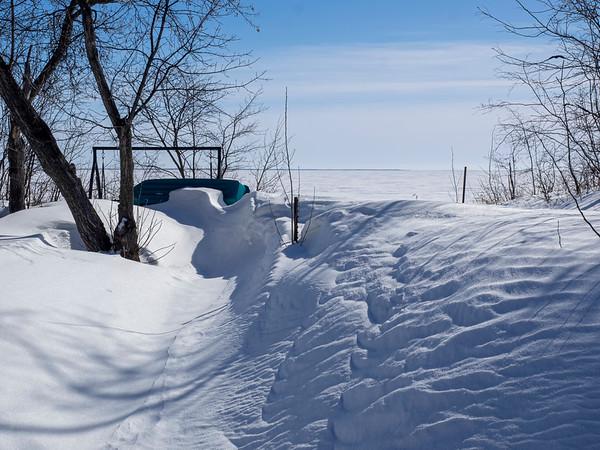Snow drifts & textures