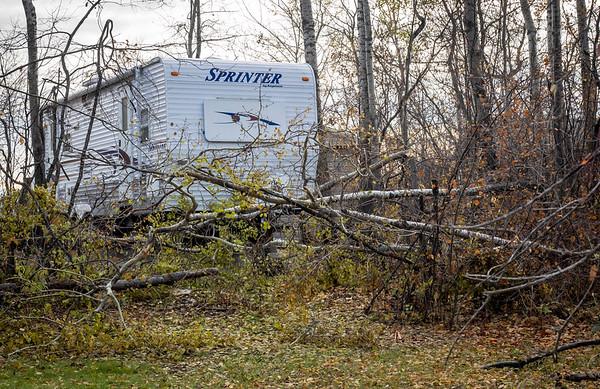 Tragic destruction after the storm