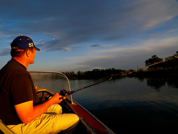 Unfortunately, the fishing was not what was expected. But the time spent out on the water was still a wonderful experience, especially as the sun was setting.
