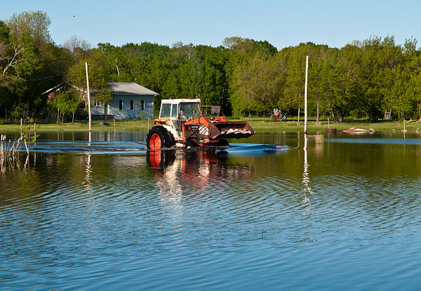The best way to get around is not by boat, well... maybe a canoe would come in handy....