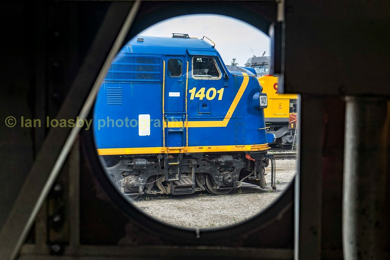 #1401 viewed from the engine compartment of #6508