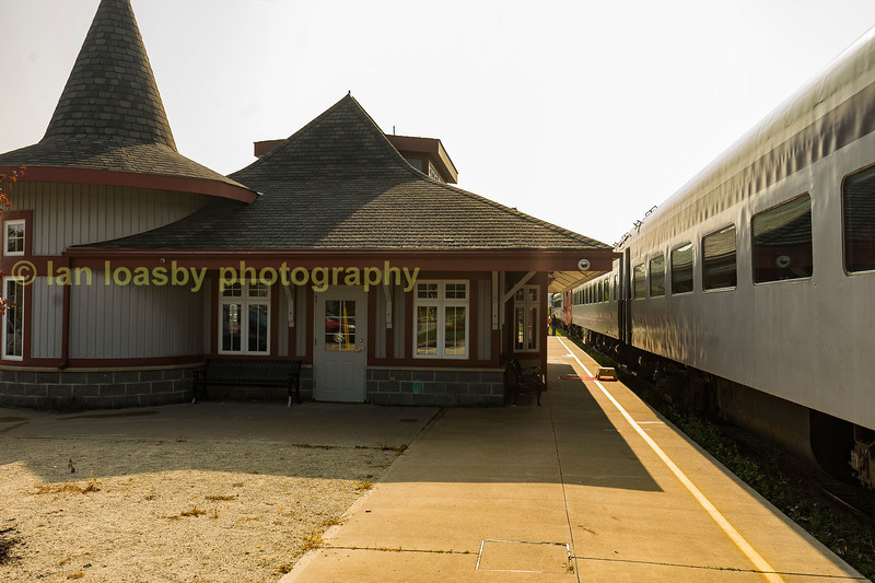 Orangeville station , an old Canadian Pacific station on the former Owen Sound sub.