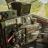 The control desk of FP9Au #6508