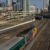 A Via rail  P42 caught me out ! as it approaches the throat of Union station from sw Ontario