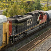 Mid train helper was  a SD70 a 4300HP loco built by EMD , these are the loco's our class 66's are based on.