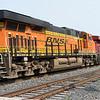 Burlington Northern & Santa Fe railway (BNSF) ES44 7021  CP train 142 friday 15-09-17
