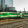 MP40 #621 propels out of union station