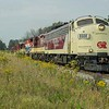 EMD FP9Au  6508 on the outskirts of Beachville on the way up to  CP's Galt sub at Woodstock