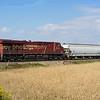 Mid train helper was , another Gevo powered ES44 8914