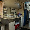 The cabouse is fitted out for life away from home, cooking facilities a fridge beds are all fitted