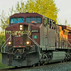 Final train of the day was CP train 421 a Toronto-Thunder bay  pick up freight headed by AC44CW  #8552 at the crossing by my hosts home