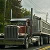 Peterbilt 6 x 4 with  tipper  trailer