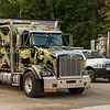 Kenworth recovery trucks outside their base at Guelph Jct