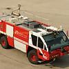 Hamilton airport fire truck.