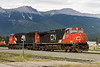 CN 2675 and CN 5788 at Jasper, Alberta.<br /> <br /> CN 2233 can also be partially seen in the background.