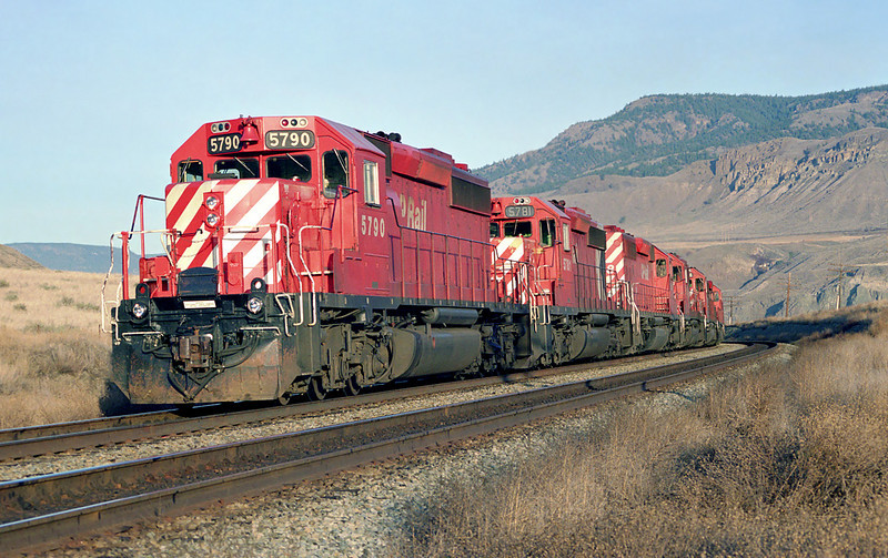 CP 5790 at the east of of Semlin, BC
