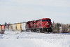 I was on my way to work when I stopped just before a crossing to take a photo. When the camera was put away and I started to drive away, I saw that there was a train coming so I headed to another crossing I use specifically for photographing trains. This was one of the photos I took. <br /> <br /> It's been quite a while since I photographed a train.<br /> <br /> Island View Road, Barclay Ontario.