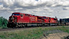 CP 8544 (a AC4400CW), and CP 9136 (a SD90MAC) at Barclay, Ontario.