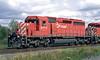 SD-40-2 5775, and SD-40-2F 9002 at Barclay, Ontario.