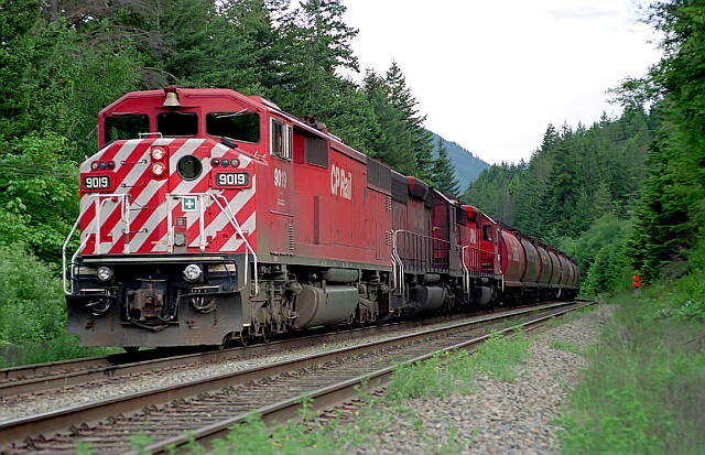 CP 9019 East.