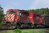 CP SD-40-2's 6052, and 5942 at Barclay, Ontario