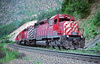CP 5812 East at Kanaka British Columbia<br /> <br /> Scanned from a slide. Image taken early 90's.