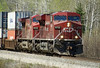 CP 8739 and CP 8515 east of Eagle River, Ontario.