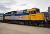 VIA Rail Canada 6441 in Jasper, Alberta.