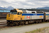 VIA Rail 6424 at Jasper, Alberta.