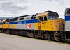 VIA Rail Canada 6407 sitting in Jasper, Alberta.