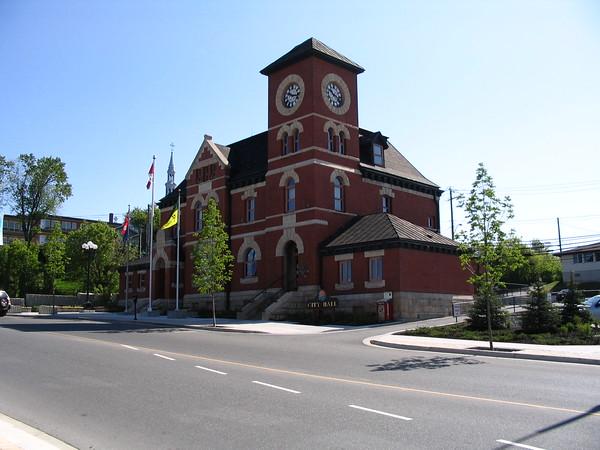 City hall, Kenora, Ontario