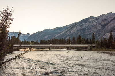 Bow River Bridge, Banff, Alberta, Canada